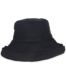 Washed Cotton Canvas Kettle Hat
