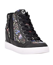 Women's Nelly Laceup Wedge Sneakers