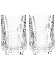 Iittala Glassware, Set of 2 Ultima Thule Highball Glasses
