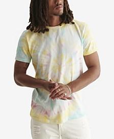 Men's Tie Dye Crewneck T-shirt