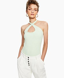 Solid Versatile-Strap Bodysuit, Created for Macy's