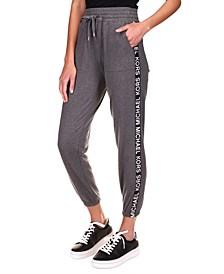Logo-Print Jogging Pants, Regular & Petite