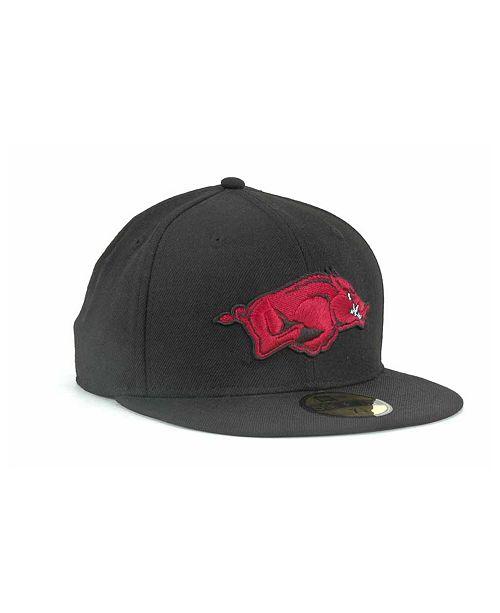 on sale a6ab6 1f5b8 ... New Era Arkansas Razorbacks NCAA AC 59FIFTY Cap ...