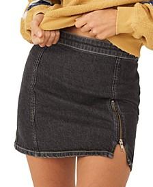 Midnight Magic Denim Skirt