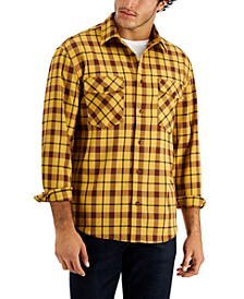 Men's Gold Rush Flannel Shirt