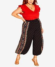 Plus Size Arama Border Pant
