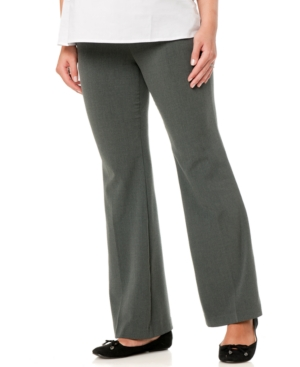 Motherhood Maternity Flare Pants plus size,  plus size fashion plus size appare