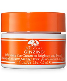 Ginzing Refreshing Eye Cream To Brighten & Depuff, 15 ml