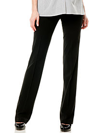 Motherhood Maternity Straight-Leg Dress Pants