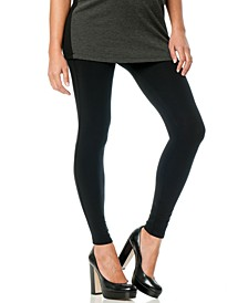 French Terry Skinny Maternity Leggings