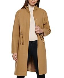 Single-Breasted Anorak Coat