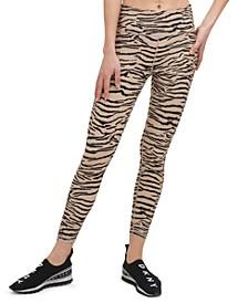 Sport Women's Tiger print Printed 7/8 Leggings