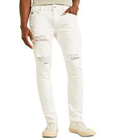 Men's Destroyed Painter's Skinny Jeans
