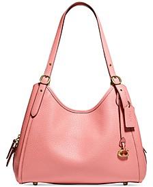 Lori Leather Shoulder Bag