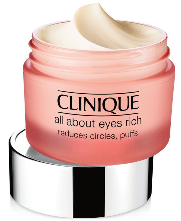 Clinique All About Eyes™ Rich Cream, 1-oz. & Reviews - Skin Care - Beauty - Macy's