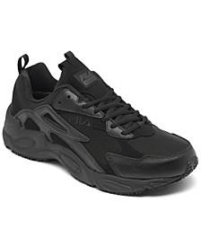 Men's Memory Late shift Slip-Resistant Work Sneakers from Finish Line