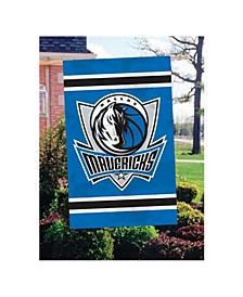 Dallas Mavericks Applique House Flag