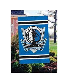 Party Animal Dallas Mavericks Applique House Flag