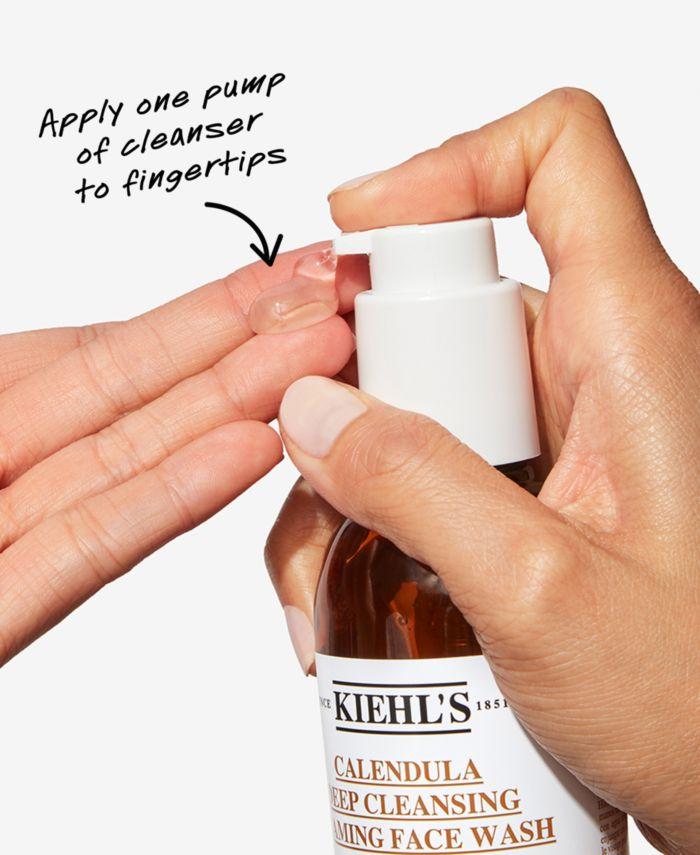 Kiehl's Since 1851 Calendula Deep Cleansing Foaming Face Wash, 7.8 fl. oz. & Reviews - Skin Care - Beauty - Macy's