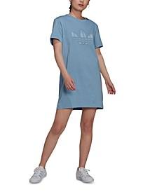 Women's Cotton T-Shirt Dress