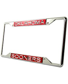 Oklahoma Sooners Laser License Plate Frame