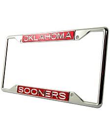 Stockdale Oklahoma Sooners Laser License Plate Frame