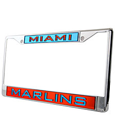 Rico Industries Miami Marlins License Plate Frame