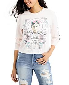 Juniors' Frida Kahlo Graphic Shirt