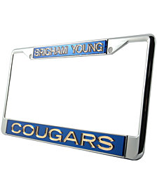 Stockdale Brigham Young Cougars Laser License Plate Frame