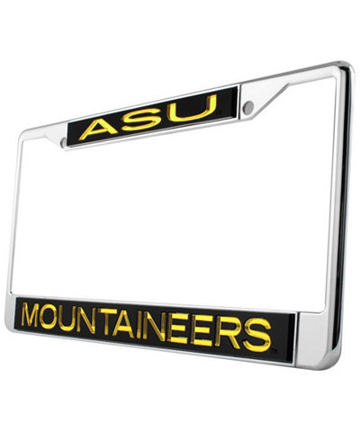 Stockdale Appalachian State Mountaineers Laser License Plate Frame