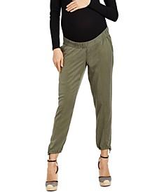 Jessica Simpson Under Belly Straight-Leg Maternity Pants