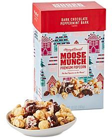 Dark Chocolate Peppermint Bark Moose Munch Premium Popcorn, 10 oz.