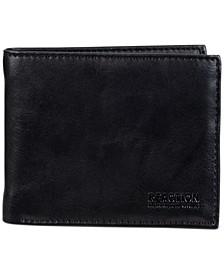 Men's RFID Wallet with Zipper Pocket