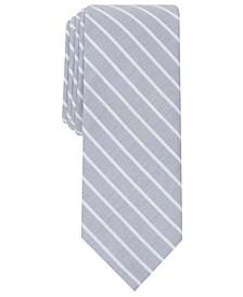 Men's Harbour Skinny Stripe Tie, Created for Macy's