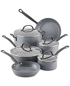 10-Pc. Quartz Aluminum Nonstick Cookware Set