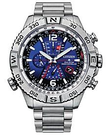Men's Chronograph Promaster Navihawk Stainless Steel Bracelet Watch 48mm