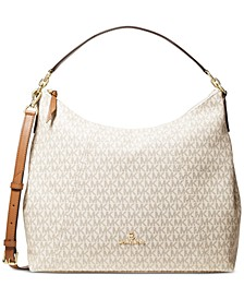 Sienna Large Convertible Signature Shoulder Bag