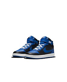 Little Boys Court Borough Mid 2 Stay-Put Casual Sneakers from Finish Line