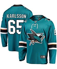 Men's Erik Karlsson Teal San Jose Sharks Home Premier Breakaway Player Jersey