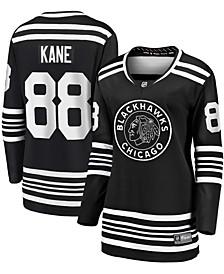 Women's Patrick Kane Black Chicago Blackhawks Alternate 2019/20 Breakaway Player Jersey