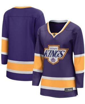 Women's Purple Los Angeles Kings 2020/21 Special Edition Breakaway Jersey