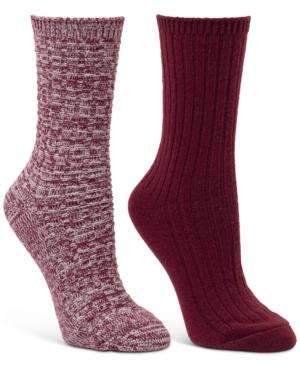 2-Pk. Textured Boot Socks