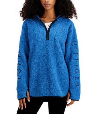 Sherpa Quarter-Zip Sweatshirt
