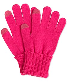 Solid Touchscreen Gloves, Created for Macy's