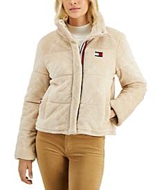 Plush Puffer Jacket