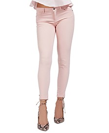 Curve Mid Rise Skinny Jeans