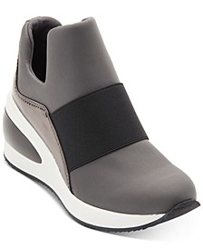 Women's Borg Wedge Sneakers