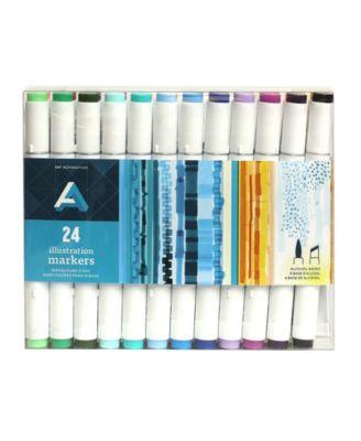 Art Alternatives Illustration Marker Set, 24 Pieces