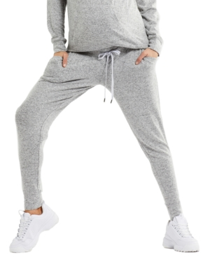 Under-Belly Hacci Maternity Jogger Pants
