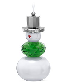 Holiday Cheers Snowman Ornament
